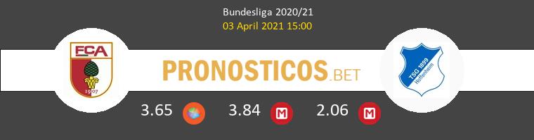FC Augsburg vs Hoffenheim Pronostico (3 Abr 2021) 1