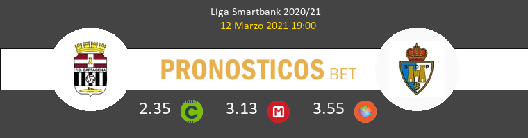 F.C. Cartagena vs Ponferradina Pronostico (12 Mar 2021) 1