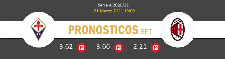 Fiorentina vs AC Milan Pronostico (21 Mar 2021) 1