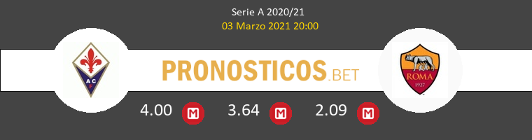 Fiorentina vs Roma Pronostico (3 Mar 2021) 1