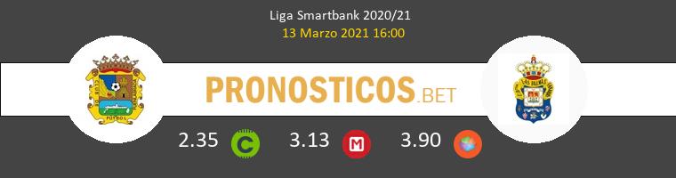 Fuenlabrada vs Las Palmas Pronostico (13 Mar 2021) 1
