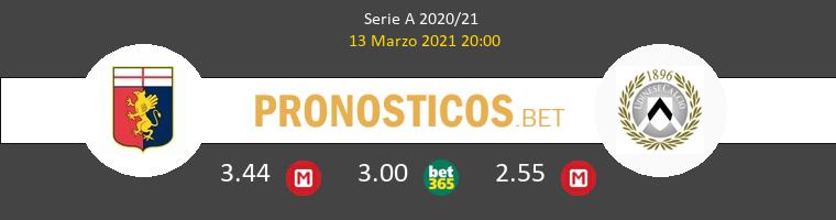 Genoa vs Udinese Pronostico (13 Mar 2021) 1