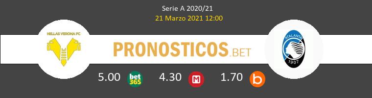 Hellas Verona vs Atalanta Pronostico (21 Mar 2021) 1