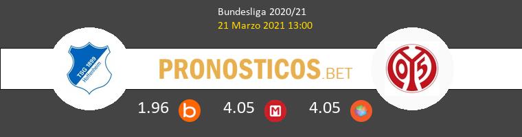Hoffenheim vs Mainz 05 Pronostico (21 Mar 2021) 1