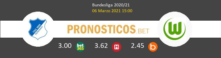 Hoffenheim vs Wolfsburg Pronostico (6 Mar 2021) 1