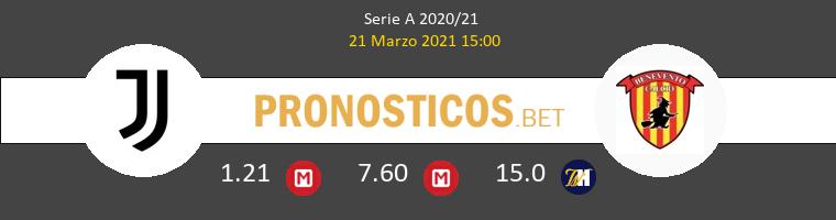 Juventus vs Benevento Pronostico (21 Mar 2021) 1