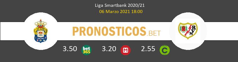 Las Palmas vs Rayo Vallecano Pronostico (6 Mar 2021) 1