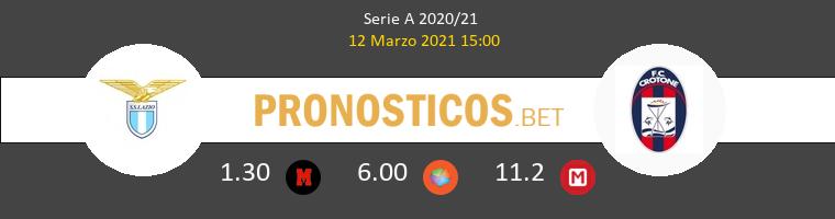 Lazio vs Crotone Pronostico (12 Mar 2021) 1