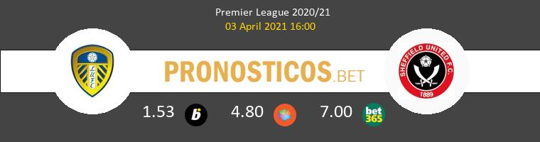Leeds United vs Sheffield Pronostico (3 Abr 2021) 1