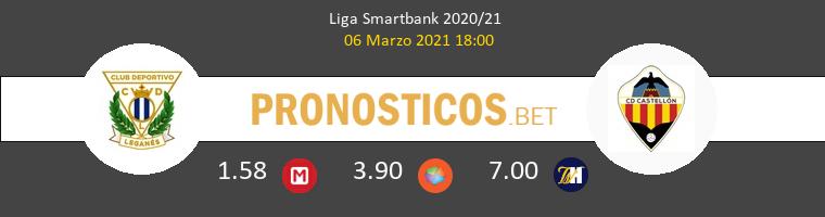 Leganés vs CD Castellón Pronostico (6 Mar 2021) 1