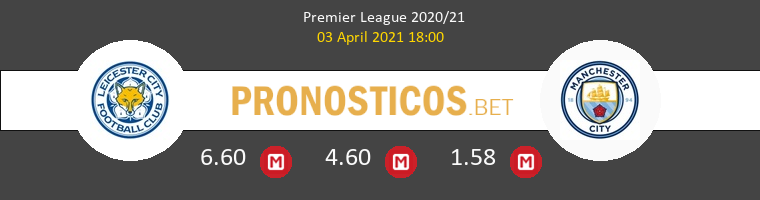 Leicester vs Manchester City Pronostico (3 Abr 2021) 1