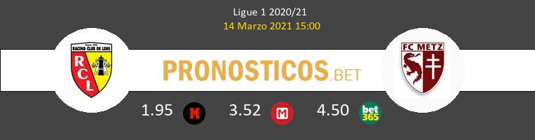 Lens vs Metz Pronostico (14 Mar 2021) 1