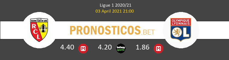 Lens vs Lyon Pronostico (3 Abr 2021) 1