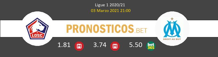 Lille vs Marsella Pronostico (3 Mar 2021) 1