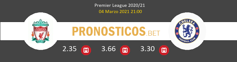 Liverpool vs Chelsea Pronostico (4 Mar 2021) 1