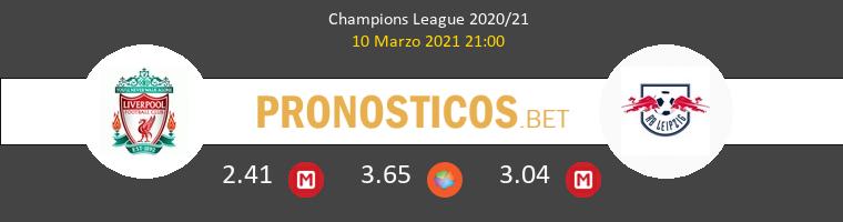 Liverpool vs Red Bull Leipzig Pronostico (10 Mar 2021) 1