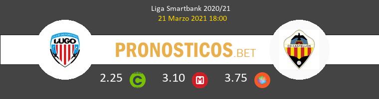 Lugo vs CD Castellón Pronostico (21 Mar 2021) 1