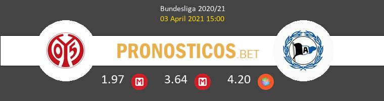 Mainz 05 vs Arminia Bielefeld Pronostico (3 Abr 2021) 1