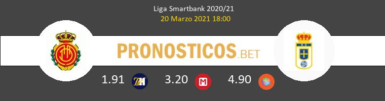 Mallorca vs Real Oviedo Pronostico (20 Mar 2021) 1