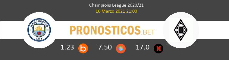 Manchester City vs B. Mönchengladbach Pronostico (16 Mar 2021) 1