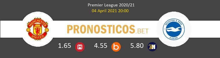Manchester United vs Brighton Pronostico (4 Abr 2021) 1