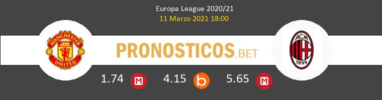 Manchester United vs Milan Pronostico (11 Mar 2021) 1