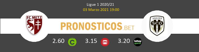 Metz vs Angers SCO Pronostico (3 Mar 2021) 1