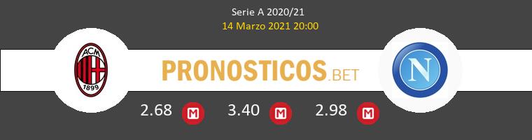 AC Milan vs Napoles Pronostico (14 Mar 2021) 1