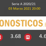 Milan vs Udinese Pronostico (3 Mar 2021) 3
