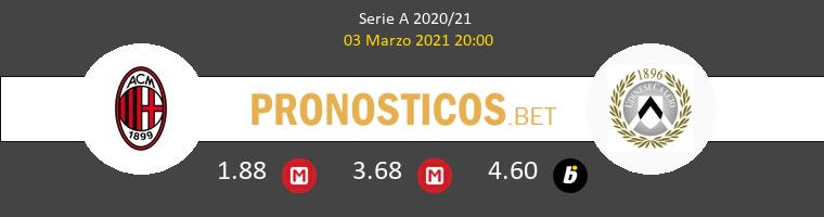 Milan vs Udinese Pronostico (3 Mar 2021) 1
