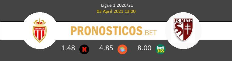 Monaco vs Metz Pronostico (3 Abr 2021) 1