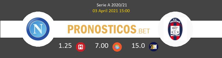 Nápoles vs Crotone Pronostico (3 Abr 2021) 1