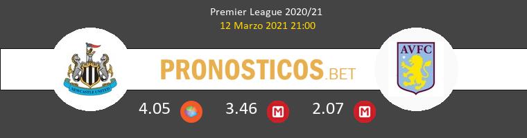 Newcastle vs Aston Villa Pronostico (12 Mar 2021) 1