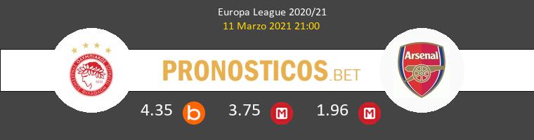 Olympiacos Piraeus vs Arsenal Pronostico (11 Mar 2021) 1