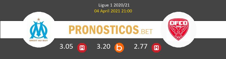 Olympique Marsella vs Dijon FCO Pronostico (4 Abr 2021) 1