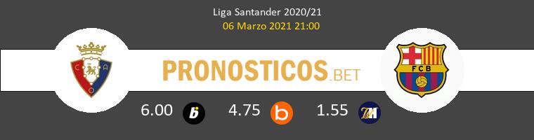 Osasuna vs Barcelona Pronostico (6 Mar 2021) 1