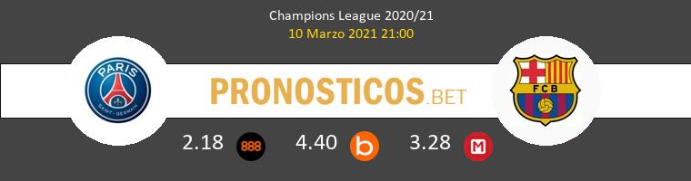 Paris Saint Germain vs Barcelona Pronostico (10 Mar 2021) 1