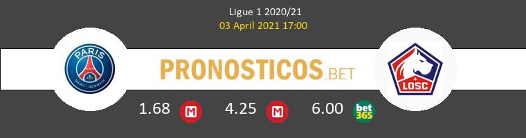 PSG vs Lille Pronostico (3 Abr 2021) 1