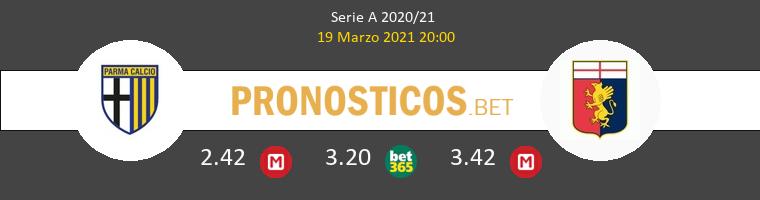 Parma vs Genoa Pronostico (19 Mar 2021) 1