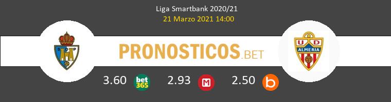 Ponferradina vs Almería Pronostico (21 Mar 2021) 1
