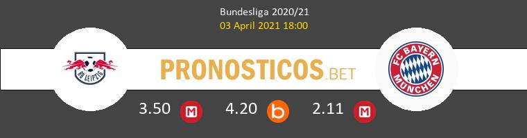 Red Bull Leipzig vs Bayern Pronostico (3 Abr 2021) 1