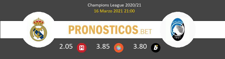 Real Madrid vs Atalanta Pronostico (16 Mar 2021) 1