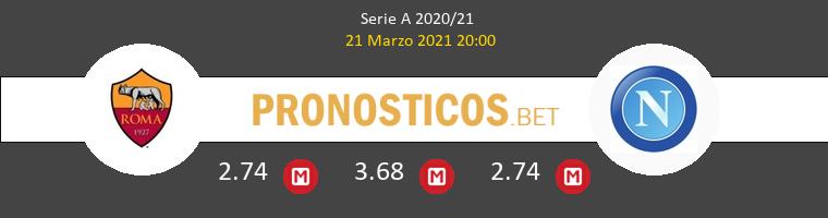 Roma vs Napoli Pronostico (21 Mar 2021) 1
