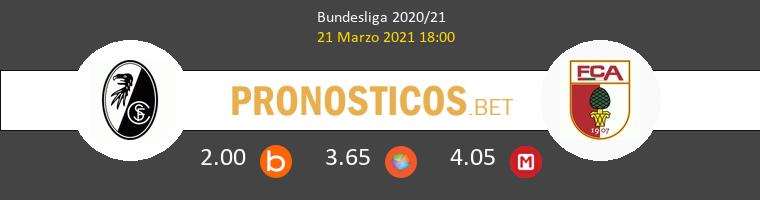 SC Freiburg vs FC Augsburg Pronostico (21 Mar 2021) 1
