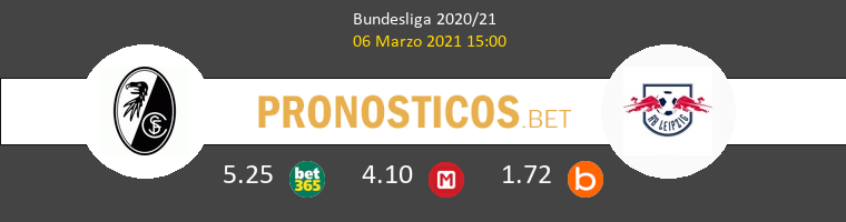 SC Freiburg vs Red Bull Leipzig Pronostico (6 Mar 2021) 1