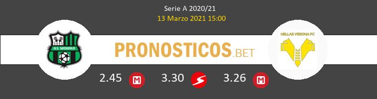 Sassuolo vs Hellas Verona Pronostico (13 Mar 2021) 1