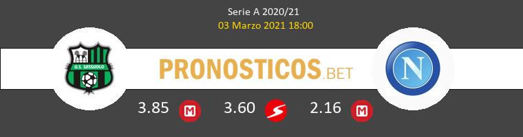 Sassuolo vs Napoli Pronostico (3 Mar 2021) 1