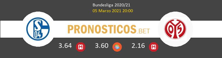 Schalke 04 vs Mainz 05 Pronostico (5 Mar 2021) 1