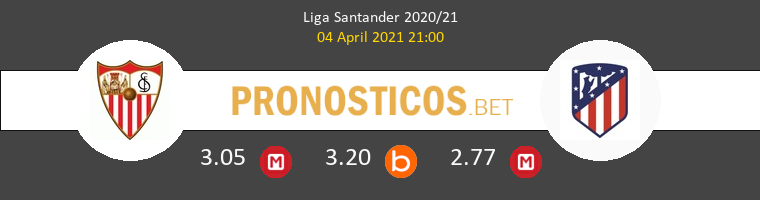 Sevilla vs Atlético de Madrid Pronostico (4 Abr 2021) 1
