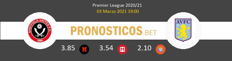 Sheffield United vs Aston Villa Pronostico (3 Mar 2021) 1
